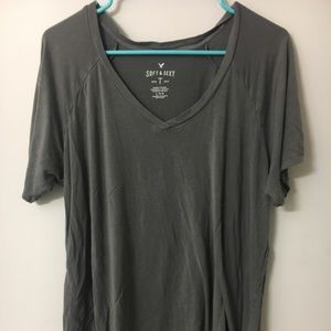Soft and Sexy Gray Shirt